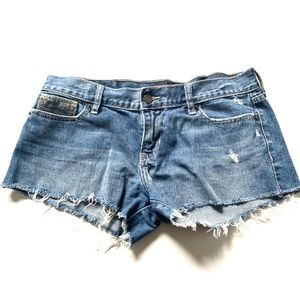 Vintage Hollister Jean denim blue shorts size 7